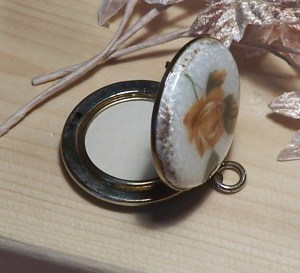 Vintage Enamel Locket