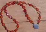 Faceted Carnelian