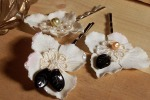 Vintage Bridal Lace Bobbis