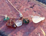 Handwrapped Sea Glass