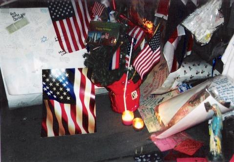 9/11 Memorial Wall 2001