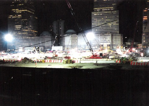 NYC Ground Zero 2001