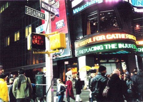 Times Square 2001
